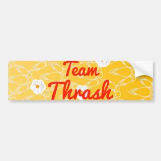 Team Thrash Bumper Stickers