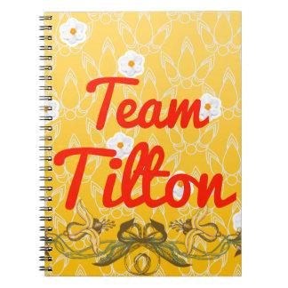 Team Tilton Spiral Note Books