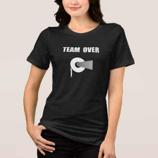 Team Toilet Paper Over T-shirts
