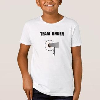 Team Toilet Paper Under T-shirt