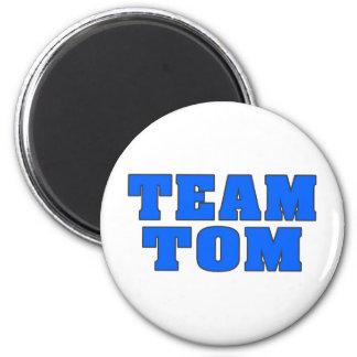 Team Tom 6 Cm Round Magnet