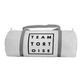 Team Tortoise Funny Gym Bag