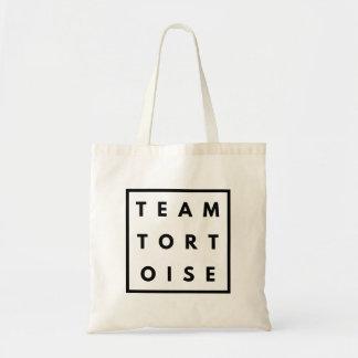 Team Tortoise Funny Tote Bag