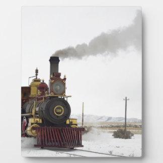 team Train Photo Plaque