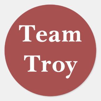 Team Troy sticker