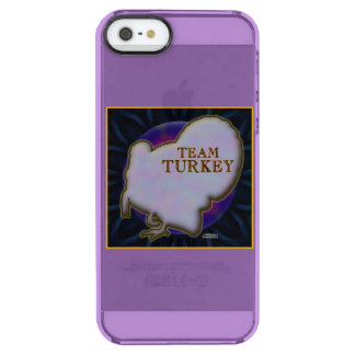 Team Turkey Clear iPhone SE/5/5s Case