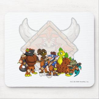 Team Tyrannia Group Mouse Pad