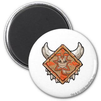Team Tyrannia Logo 6 Cm Round Magnet