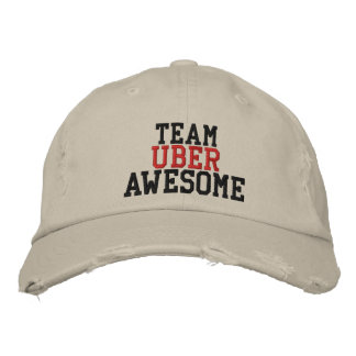 Team Uber awesome Embroidered Cap