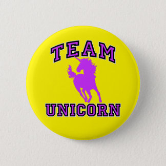 Team Unicorn 6 Cm Round Badge