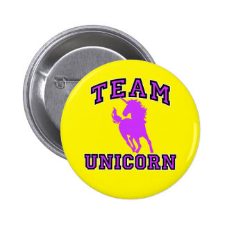 Team Unicorn 6 Cm Round Badge
