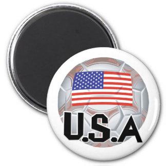 Team USA Soccer Magnet