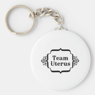 Team Uterus Key Chains