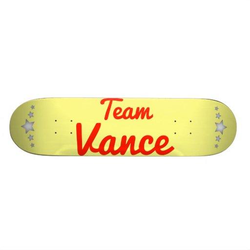 Team Vance Skateboard