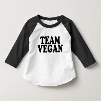 Team Vegan funny toddler shirt