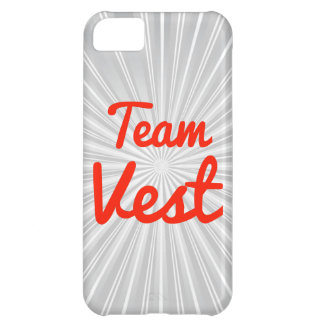 Team Vest iPhone 5C Covers