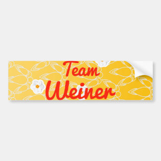 Team Weiner Bumper Stickers