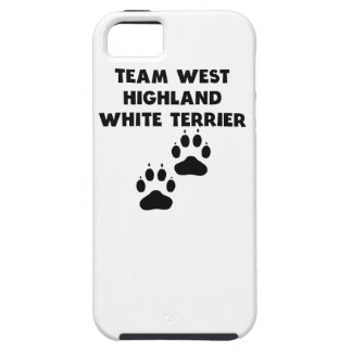 Team West Highland White Terrier iPhone 5 Cases