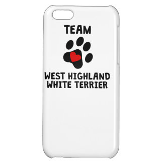Team West Highland White Terrier Cover For iPhone 5C