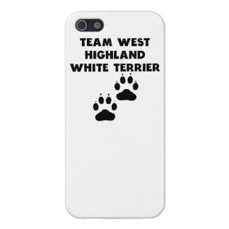 Team West Highland White Terrier Case For iPhone 5