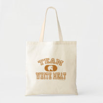 Team White Meat Thanksgiving Tote Bag