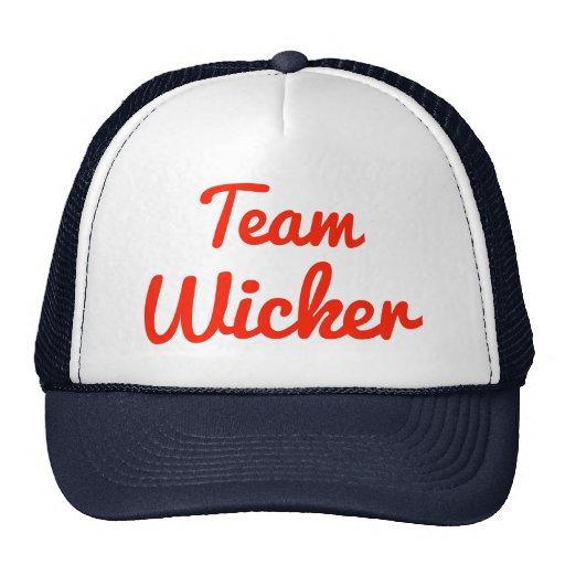 Team Wicker Hat