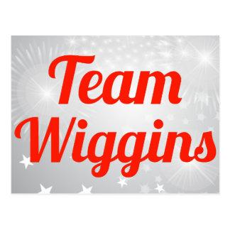 Team Wiggins Postcard