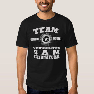 TEAM WINCHESTER SUPERNATURAL 1983 TEES