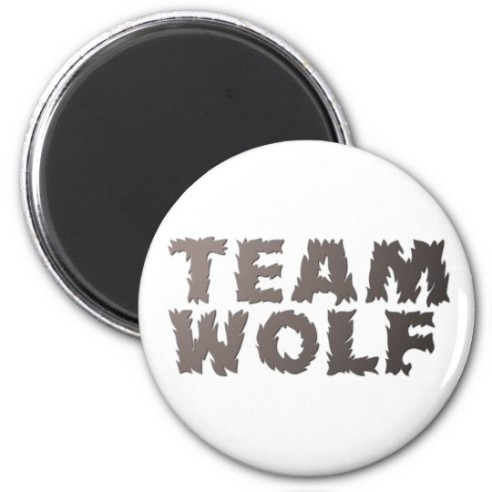 Team Wolf Magnet