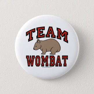 Team Wombat III 6 Cm Round Badge