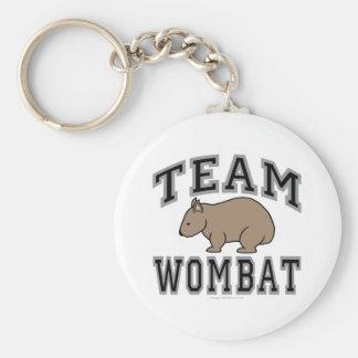 Team Wombat V Key Ring