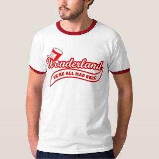 Team Wonderland: Mad Hatter (red) T-Shirt