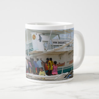 Team Work Boat Mug