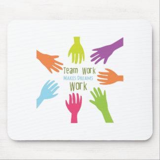 Team Work Mouse Mat