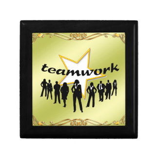 Team-work Small Square Gift Box