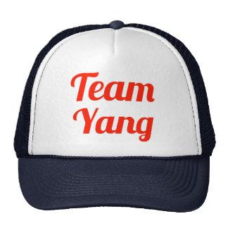 Team Yang Hats
