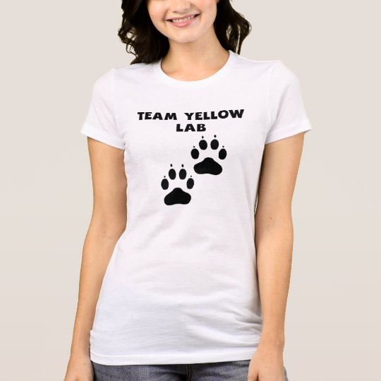Team Yellow Lab T-Shirt