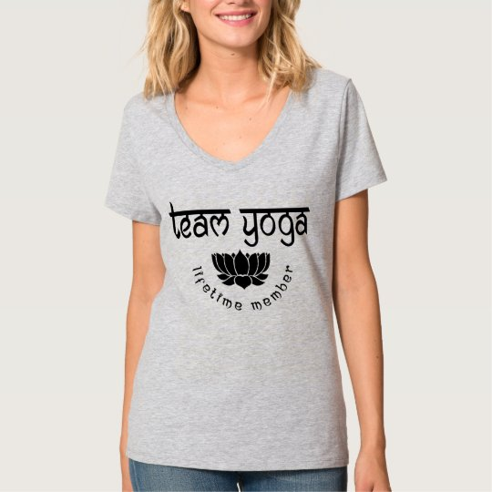 Team Yoga Lifetime Member Women's T-Shirt