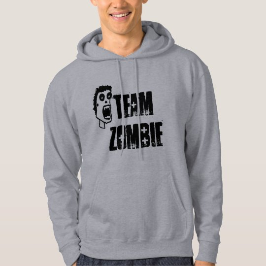 """Team Zombie"" Zombie Hoodie"