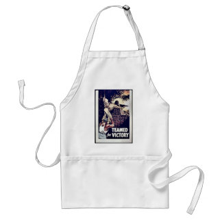 Teamed For Victory Aprons