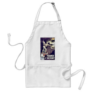 Teamed For Victory Apron