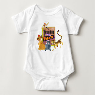 Teaming up for Treats Baby Bodysuit