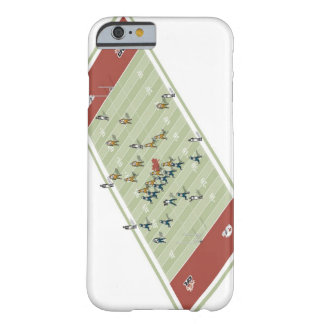 Teams on Canadian football pitch Barely There iPhone 6 Case
