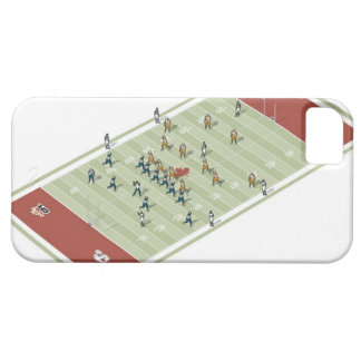 Teams on Canadian football pitch iPhone 5 Cases
