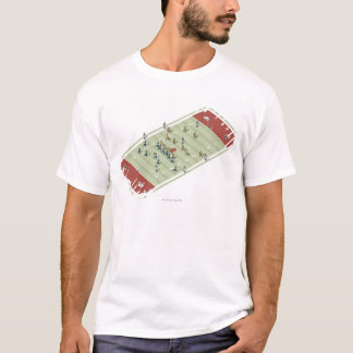 Teams on Canadian football pitch T-Shirt