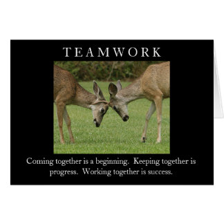 Teamwork Card