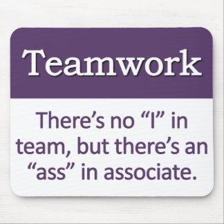 Teamwork Definition Mouse Mat