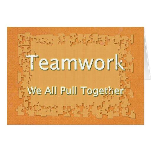 Teamwork Employee Relations Card