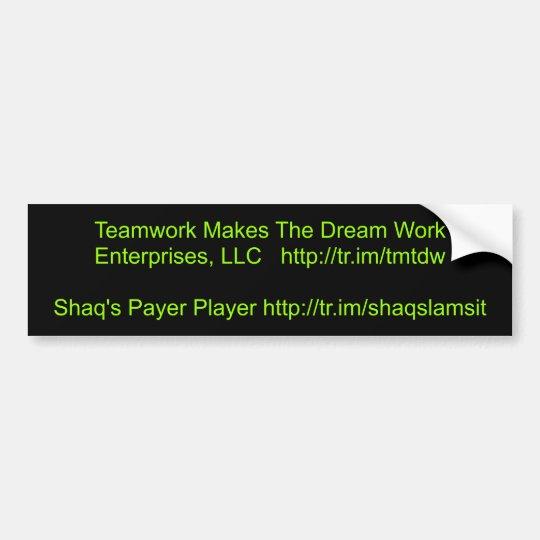 Teamwork Makes The Dream Work Enterprises, LLC