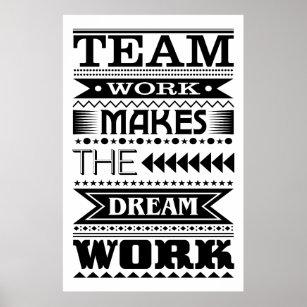 team works makes the dream work